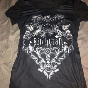 Bitchcraft gothic shirt